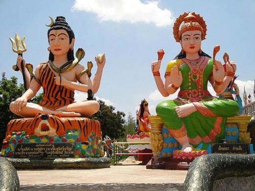 Chùa Wat Pa Lak Roy, tỉnh Nakhon Ratchasima