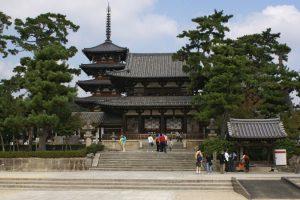 Ngôi chùa gỗ Horyuji cổ nhất với hơn 1400 năm linh thiêng ở Nhật Bản