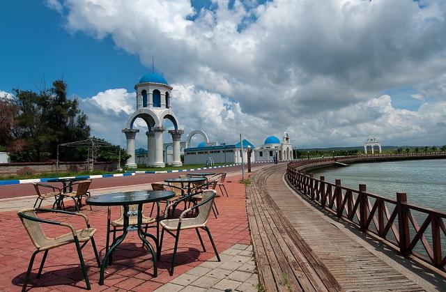 Khu vực bờ biển Gangnan và kênh đào ở thành phố Hsinchu