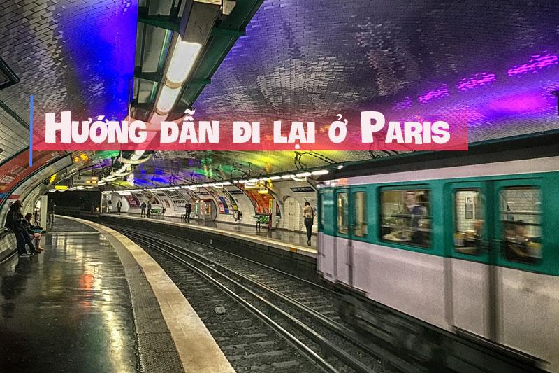 Tàu điện ngầm ở Paris