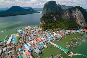Làng nổi Ko Panyi đẹp nhất Thái Lan nhiều người mê
