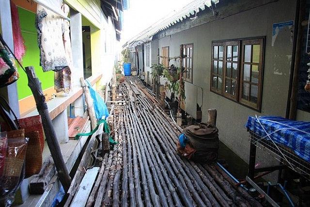 ngôi làng nổi Ko Panyi , Thái Lan