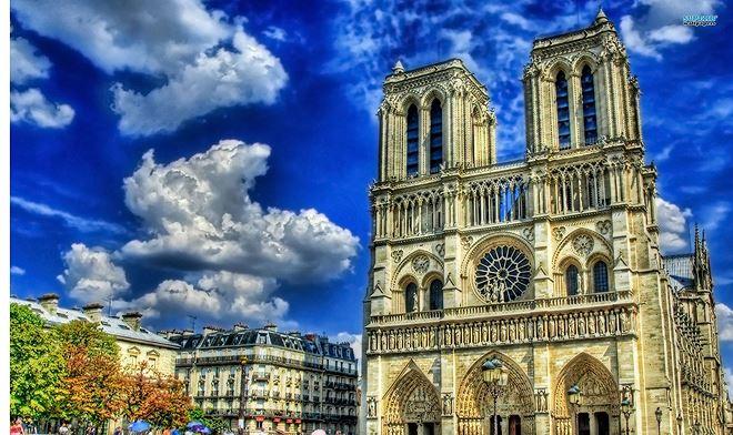 Nhà thờ Đức Bà Paris , Pháp