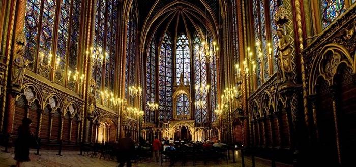 Nhà thờ Sainte Chapelle, Pháp