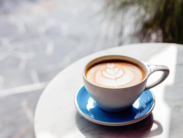 Latte và các món tráng miệng của Under Pressure
