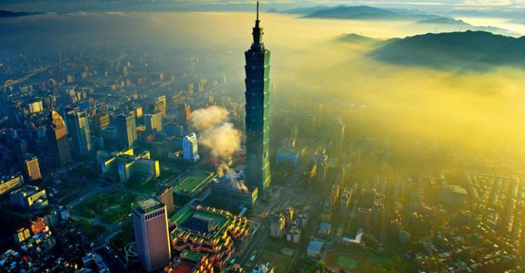 tháp Taipei Đài Bắc