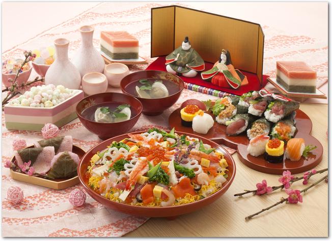 nhiều món ăn đặc trưng của lễ hội