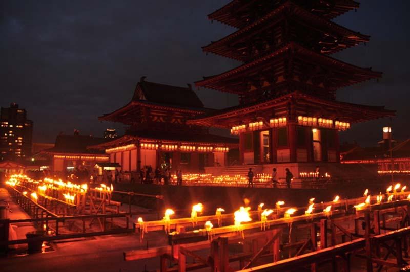 Lễ hội Obon ở Osaka