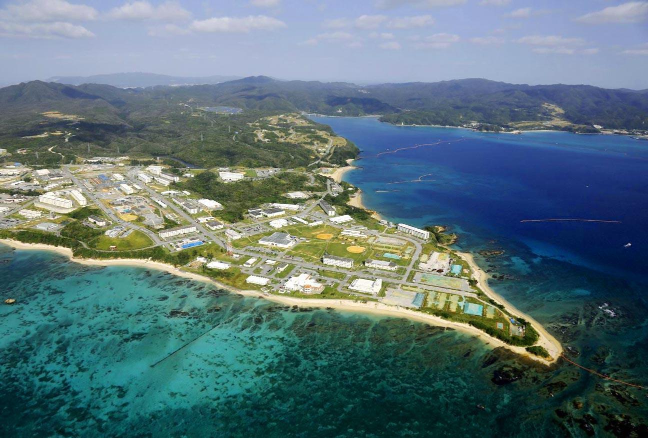 Đảo nổi Okinawa, Nhật Bản