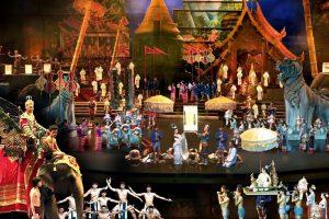 Thưởng thức chương trình bữa tối Siam Niramit khi đi tour Thái Lan