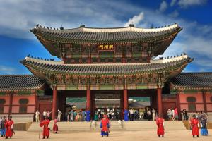 Cung điện Gyeongbokgung – Hoàng cung nằm ở phía bắc Seoul, Hàn Quốc