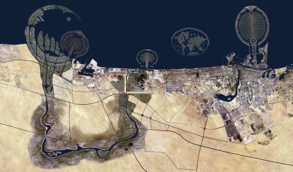hòn đảo nhân tạo Dubai