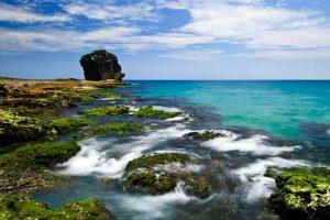 Vẻ đẹp bãi biển Kending 1 ngày trong lịch trình du lịch Đài Loan