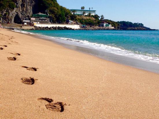 Bãi biển Jungmun Saekdal