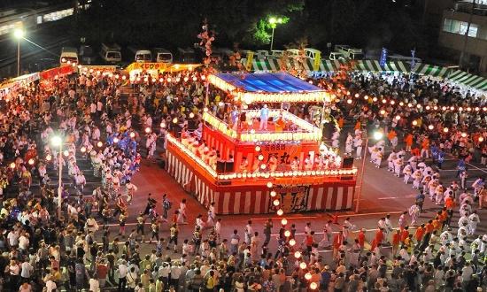 lễ Obon, Nhật Bản