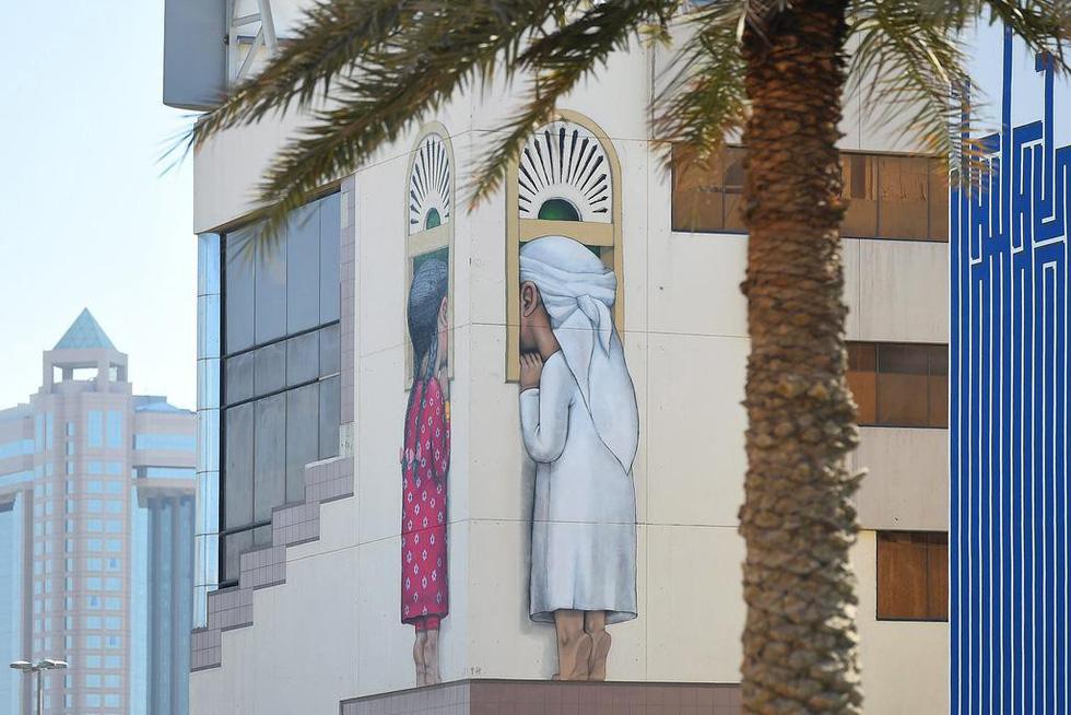Chiêm ngưỡng nghệ thuật đường phố Dubai