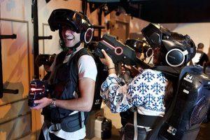 Hub Zero nằm trong tổ hợp City Walk, mang đến cho du khách những trò chơi với công nghệ thực tế ảo siêu hấp dẫn