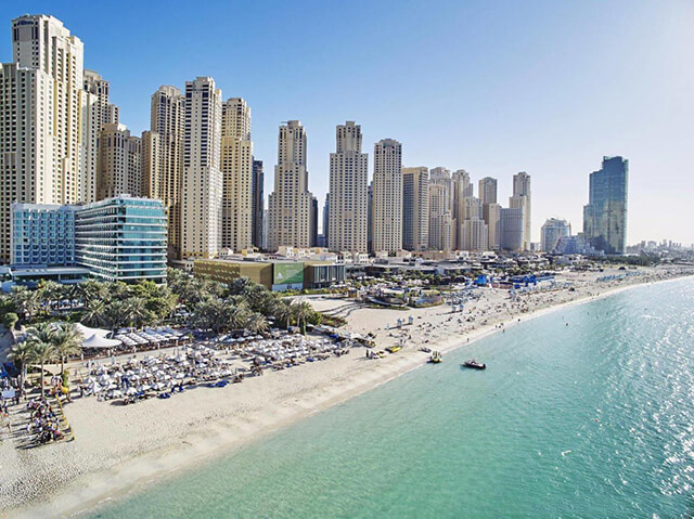 Đã đi tour Dubai thì làm sao có thể bỏ lỡ công viên bãi biển Jumeira