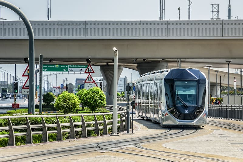 Tram Dubai