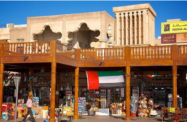 Chợ gia vị Spice Souk là một trong những ngôi chợ cổ phải ghé thăm khi đi du lịch Dubai