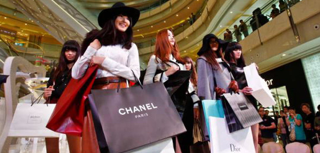 Các thương hiệu nổi tiếng được bán rất nhiều ở Nhật