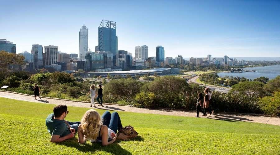 Khám phá công viên Kings Park khi đi du lịch Úc