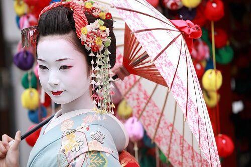 Geisha Nhật Bản