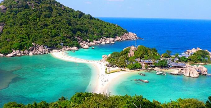 Ghé thăm hòn đảo Koh Nang Yuan khi đi tour Thái Lan