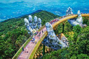 Cầu Vàng là điểm du lịch hấp dẫn mới tại Đà Nẵng