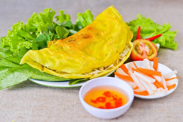 Đã du lịch Đà Nẵng thì không thể bỏ qua món bánh xèo thơm ngon
