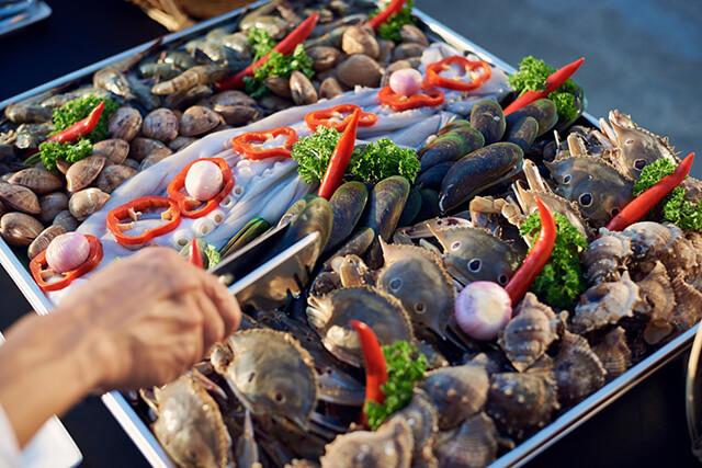 Thành phố biển Đà Nẵng nổi tiếng với nhiều loại hải sản tươi ngon