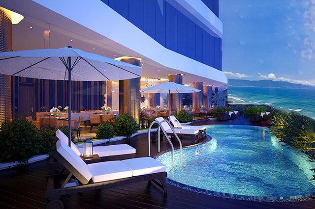 Bên cạnh các Home-stay giá rẻ Đà Nẵng có cả 1 hệ thống khách sạn cao cấp