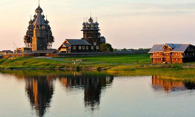 Khung cảnh đẹp như tranh vẽ của đảo Kizhi, Nga