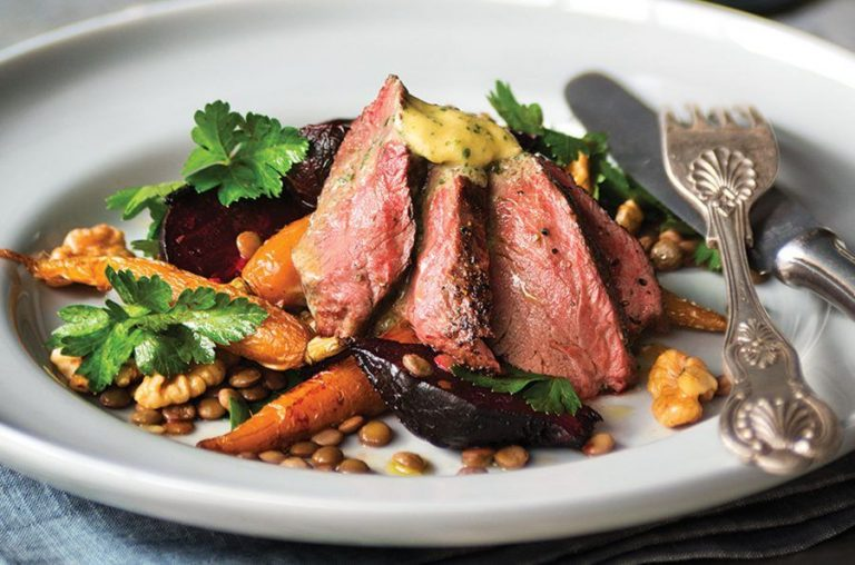 Thịt Kangaroo nướng thơm lừng