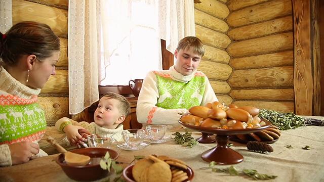 Người Nga thường dùng bữa sáng trước khi ra khỏi nhà