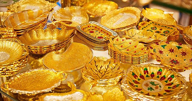 Vàng và những món đồ trang sức bằng vàng ở Dubai
