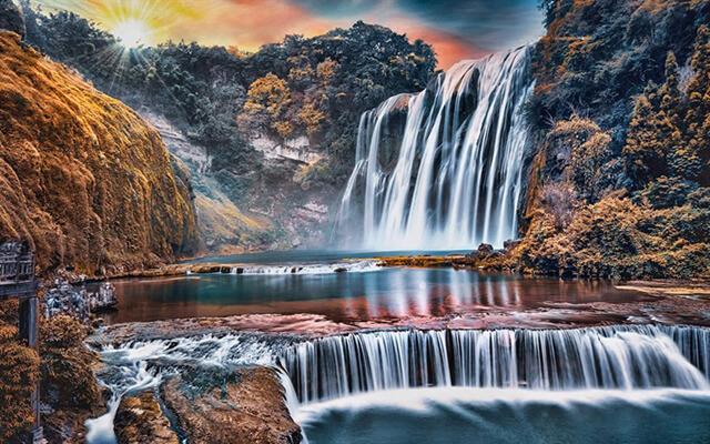 Tour du lịch Quý Châu Trung Quốc hấp dẫn du khách với bức trang phong cảnh đẹp xuất sắc
