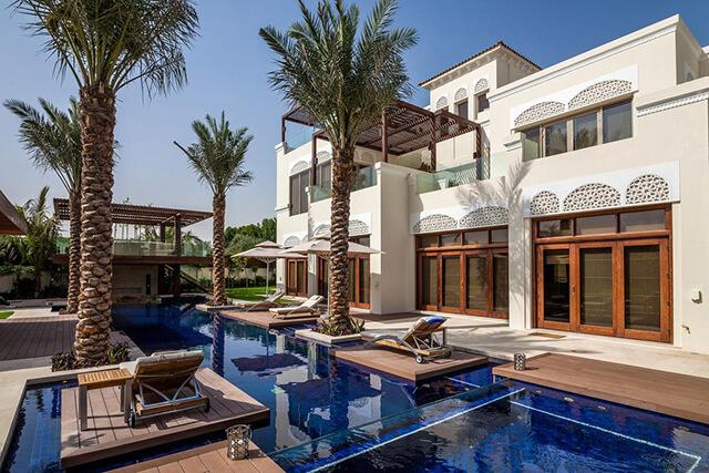 Những dinh thự xa xỉ, hào nhoáng của giới nhà giàu tại tiểu vương quốc Dubai
