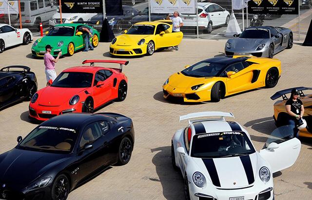 Những chiếc siêu xe xuất hiện phổ biến tại Dubai