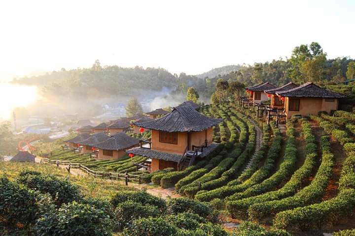 Thị trấn Mae Hong Son thơ mộng