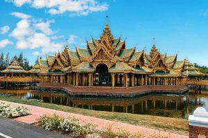 Lạc lối ở Mueang Boran Ancient City trong chuyến du lịch Thái Lan