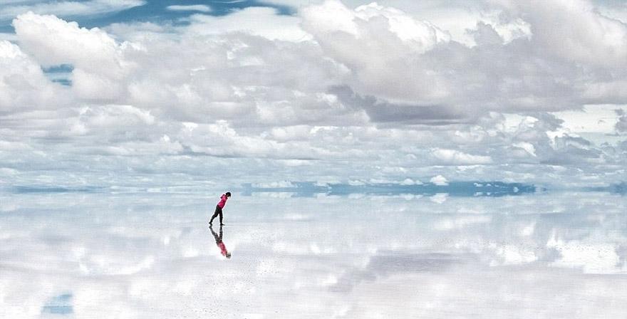 Salar de Uyuni: tấm gương lớn nhất thế giới, Bolivia