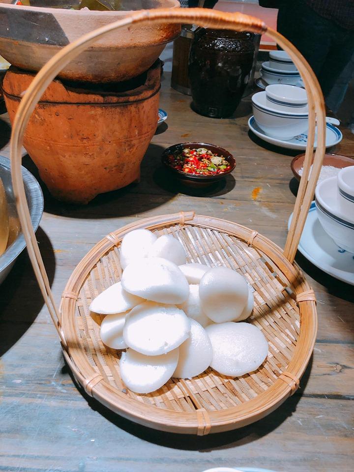 Bánh bao chay để ăn sáng
