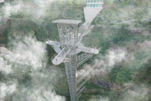 Cầu kính Rồng Mây Sapa ngỡ như cây cầu Sky wall Thiên Môn Sơn