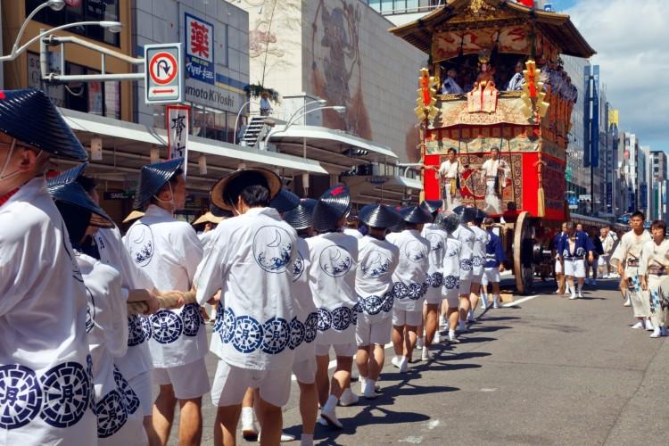 lễ hội Gion Matsuri