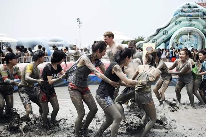 Các hoạt động được tổ chức tại Lễ hội bùn Boryeong