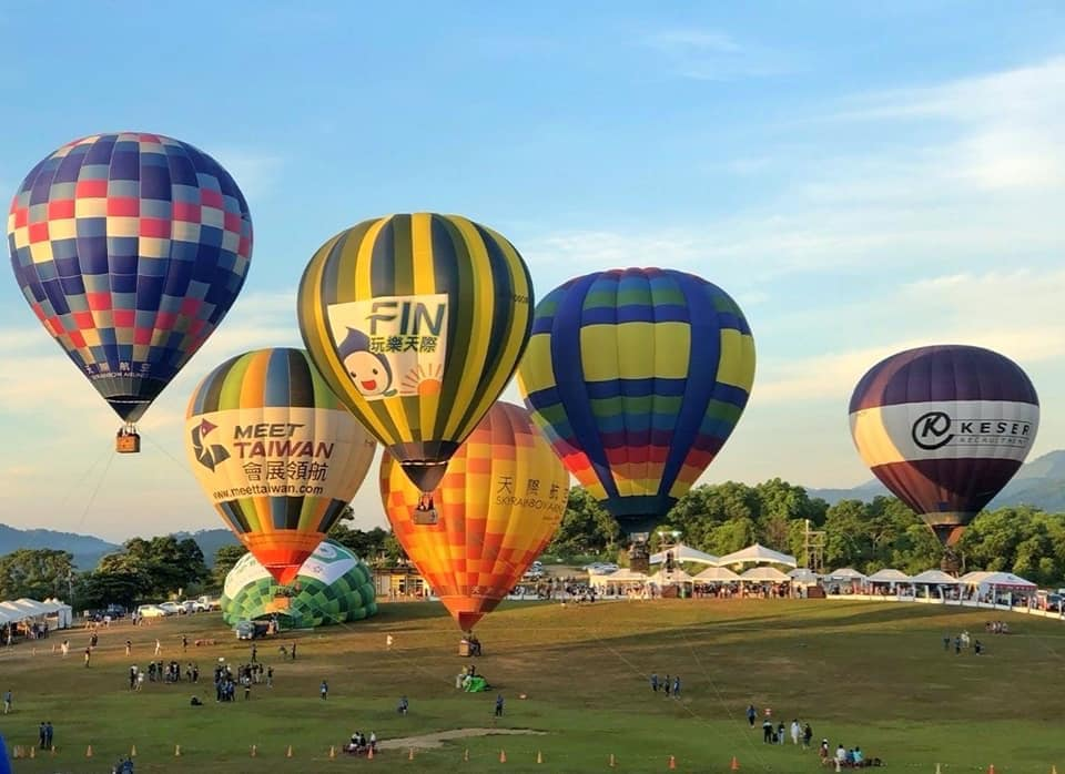 Lễ hội kinh khí cầu quốc tế Đài Đông 2019