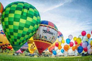 Tham gia lễ hội kinh khí cầu Đài Đông khi đi tour Đài Loan