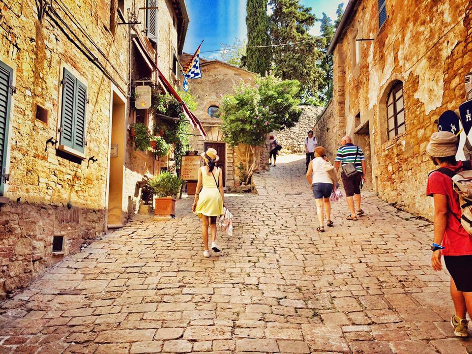 Thị trấn cổ Volterra