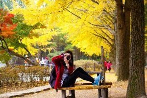 Trang phục đi du lịch Nhật Bản vào mùa thu